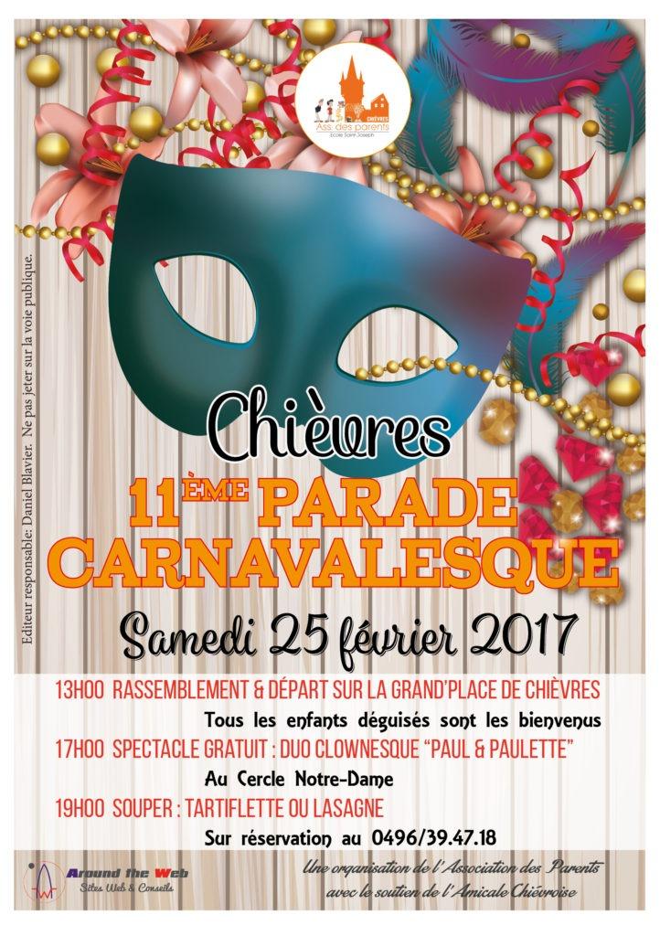 Around the Web - Affiche Carnaval Chièvres 2017