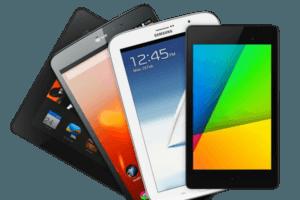 Tablettes et smartphones