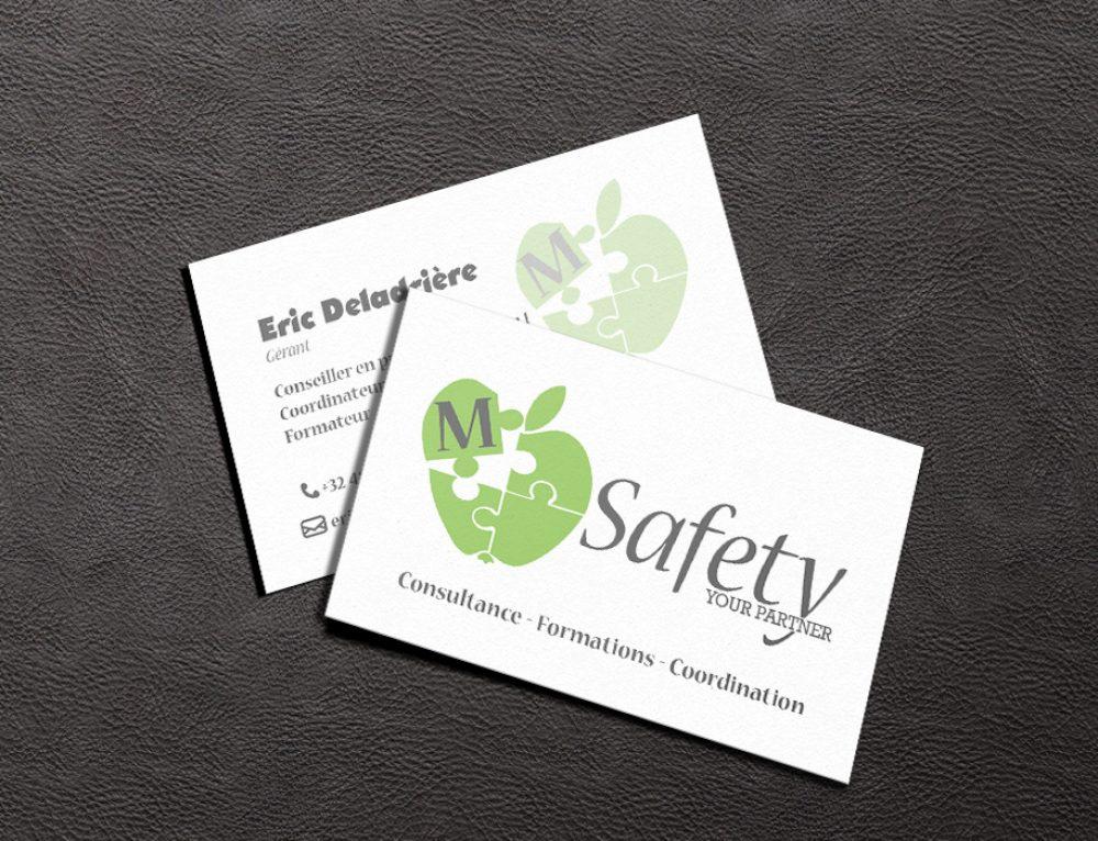 Cartes de visite – M-Safety