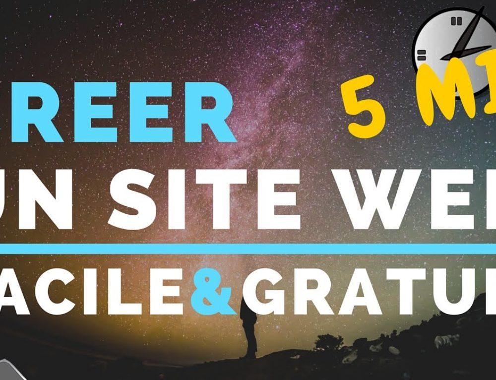 Site gratuit ou site pro ?