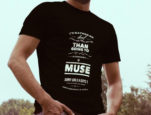 T-Shirt anti-MUSE