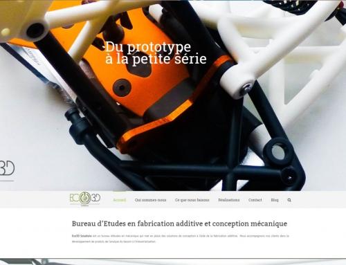 Site Web – ECO 3D Solutions