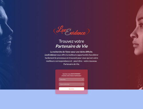 Site web – LovEvidence