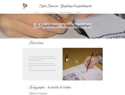 Site Web – Sylvie Tramasure